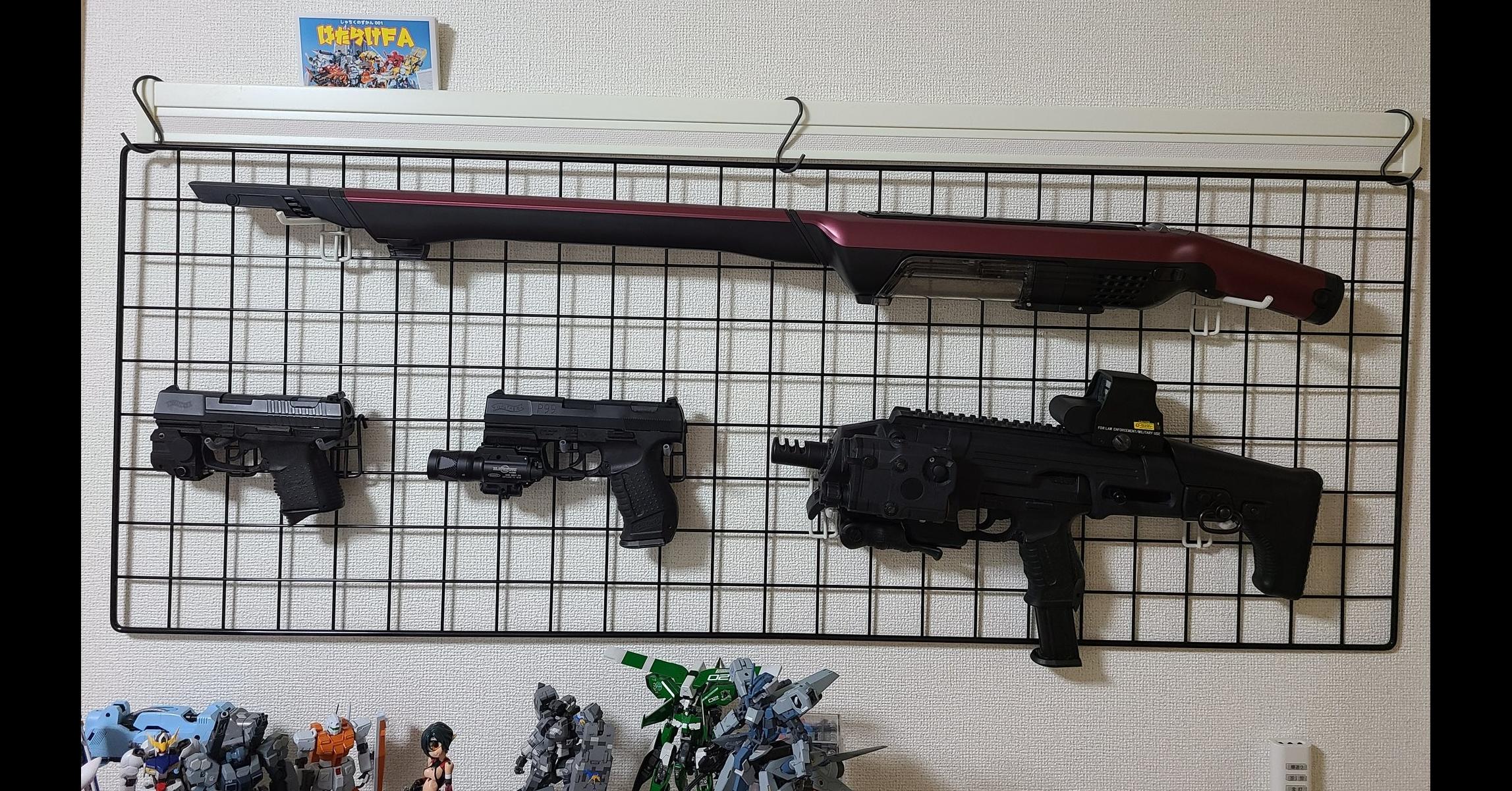 照片中提到了性けFA、章、P99,包含了槍、槍