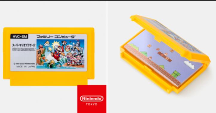 照片中提到了HVC-SM、ファミリーコンビュー、スーパーマリオフラザーズ,跟任天堂有關,包含了橙子、產品設計、產品、黃色、字形