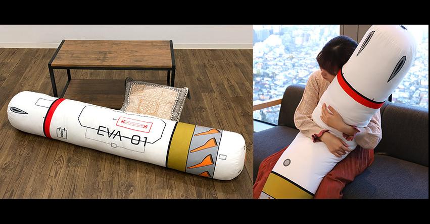 照片中提到了EVA-01,包含了地板、坐墊、新世紀福音戰士、神經、圖片