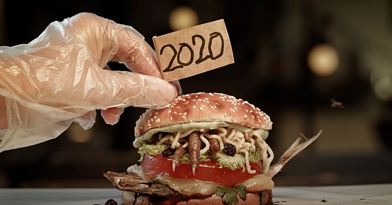 漢堡王試作品「代表2020年的漢堡」…試吃者臉色沒一個好的