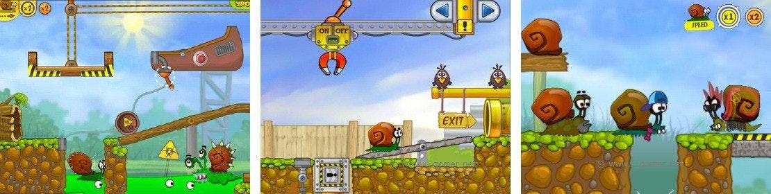 是HTML5遊戲介紹-蝸牛冒險記這篇文章的首圖