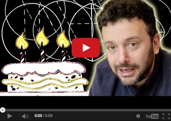 是用科學的方法切蛋糕?來看影片說明最清楚!英國數學家的幽默展現。這篇文章的首圖