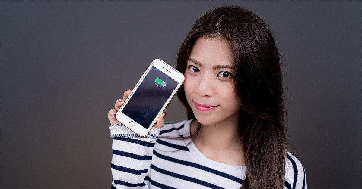 是讓你的 iPhone 6 電力多八成!KUKE 行動電源手機殼讓你電力「源源不絕」~這篇文章的首圖