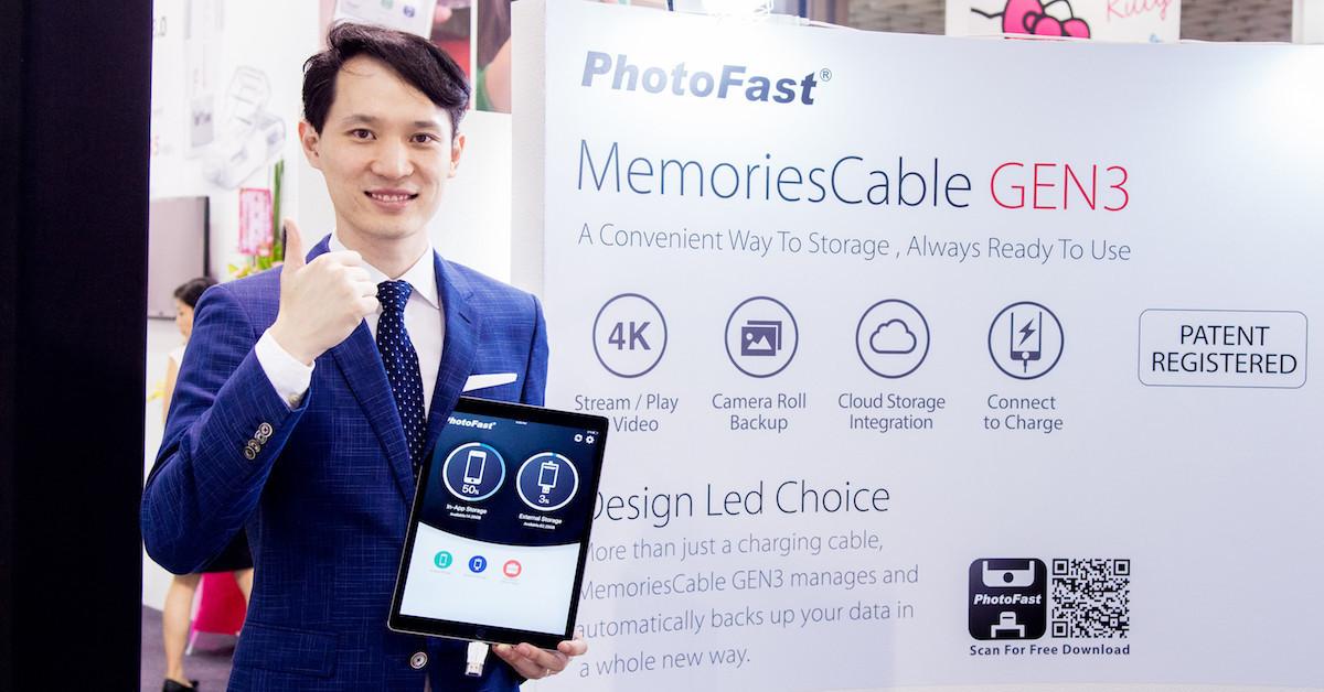 是Computex 2016:速度、速度、速度!PhotoFast 推出世界最快 Lightning 3.0 iPhone 隨身碟這篇文章的首圖