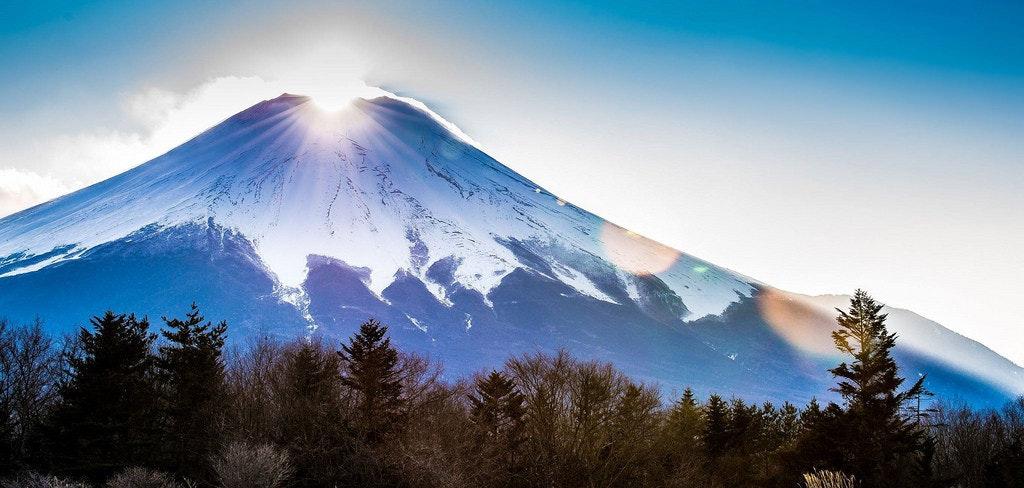是[攝影小教室] 跟我一起做,你也是修圖大師!(二)山中湖之鑽石富士「ダイヤ富士」這篇文章的首圖