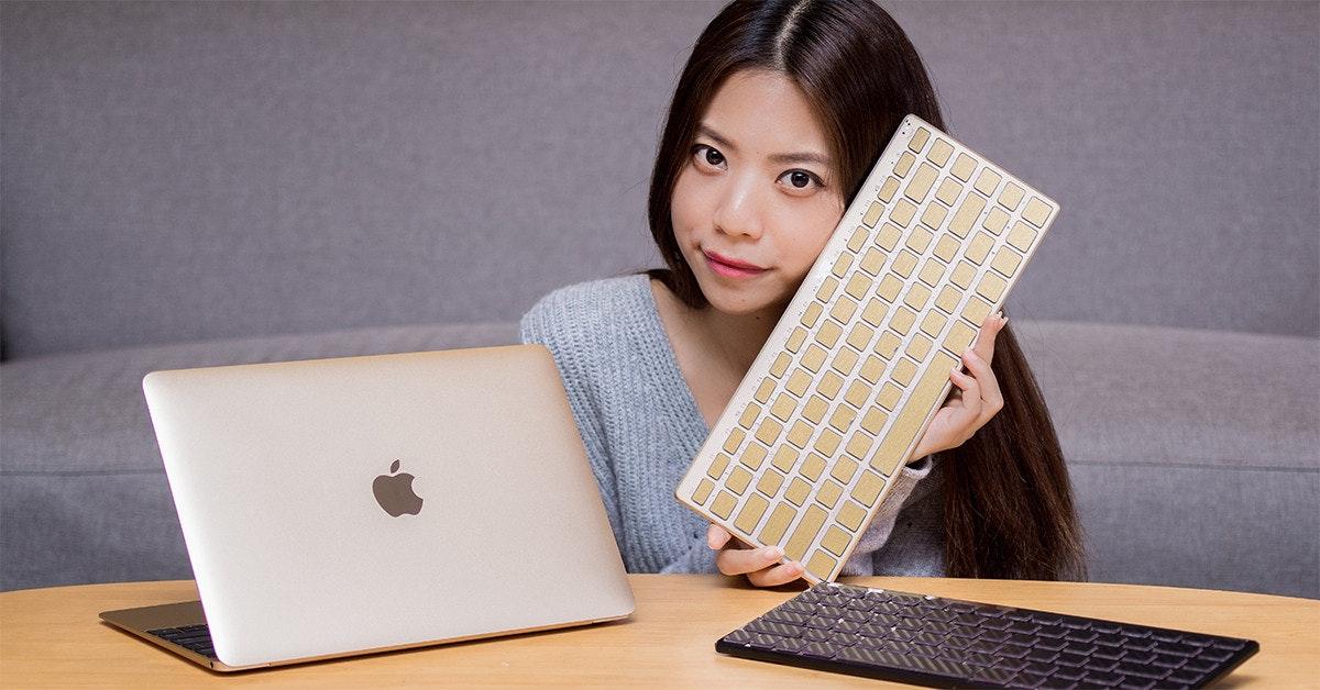 是Mac 用家新鍵盤!DEMON ART 藍牙鍵盤給你更多材質、顏色選擇,而且還會發光喔!這篇文章的首圖
