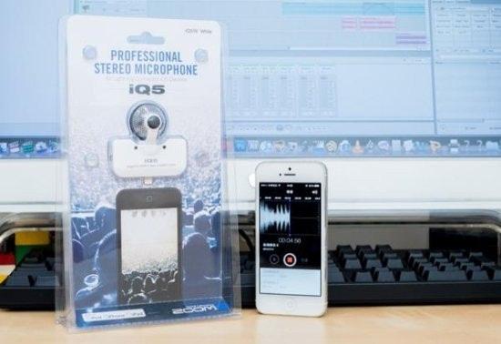 是口袋裡的專業錄音室:iPhone 專用立體聲麥克風 Zoom iQ5 評測這篇文章的首圖