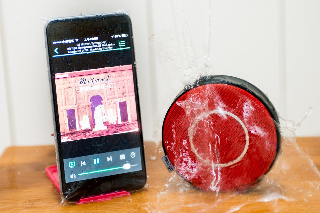 是水桶大挑戰之 neo2go 藍牙防水迷你喇叭 V.S iPhone 6 Plus!這篇文章的首圖