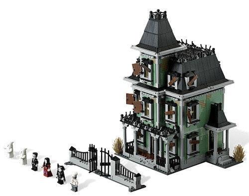 是樂高搞陰森!LEGO官方推出首座樂高鬼屋這篇文章的首圖