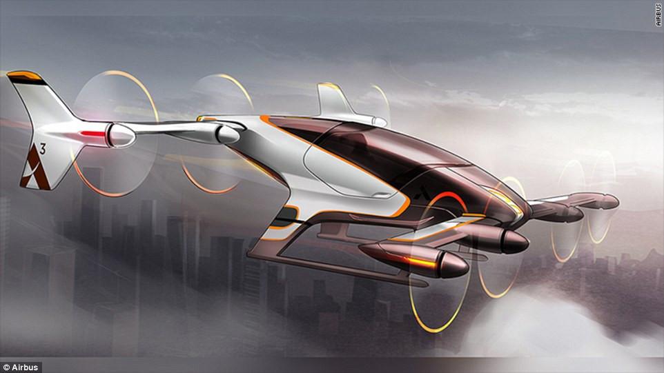 是有降落傘的車 空中巴士無人飛行車Vahana這篇文章的首圖