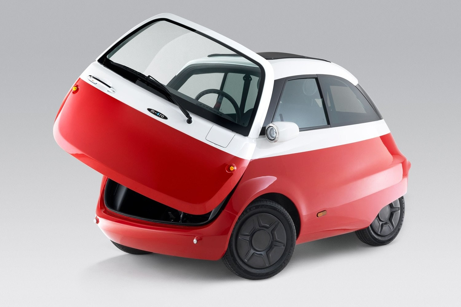 Isetta, Car, Electric vehicle, Iso Rivolta, BMW, Microlino, Micro Mobility Systems, Electric car, , Vehicle, microlino 2018, car, motor vehicle, vehicle, red, automotive design, mode of transport, city car, vehicle door, product, automotive exterior