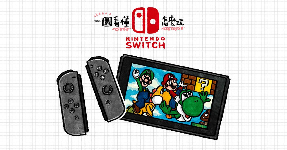 是一圖看懂 任天堂Switch主機、掌機大合體:4種玩法搶先看這篇文章的首圖