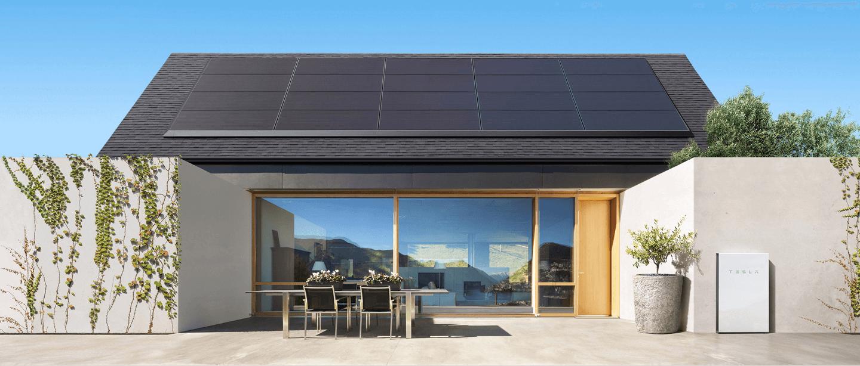 Tesla, Inc., Gigafactory 2, Solar Panels, Tesla Powerwall, Solar power, , Energy, Renewable energy, , SolarCity, tesla solar panels, Roof, Property, Home, House, Building, Shade, Facade, Architecture, Pavilion, Real estate