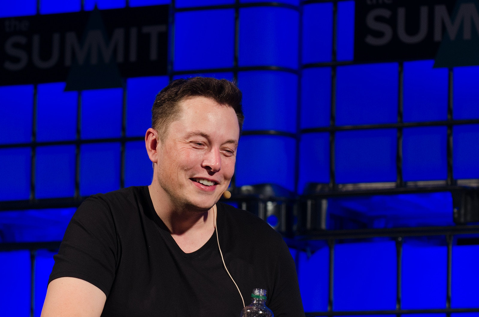 Elon Musk, Tesla, Inc., , Tesla Model 3, Flickr, Web Summit, SpaceX, , Entrepreneur, Chief Executive, elon musk flickr, Blue, Music artist, Fun, Performance, Event, Electric blue, Singer, Television presenter