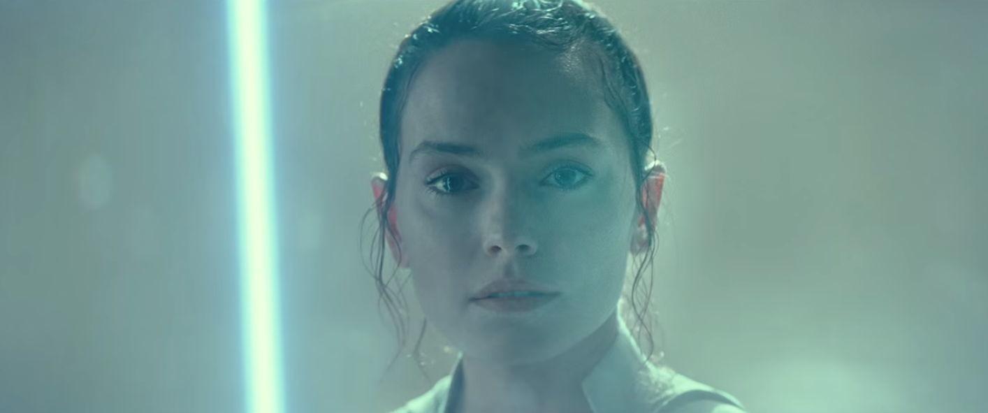 照片中包含了力量永遠與你同在、雷伊、星球大戰:天行者的崛起、黛西·雷德利(Daisy Ridley)、凱洛·倫