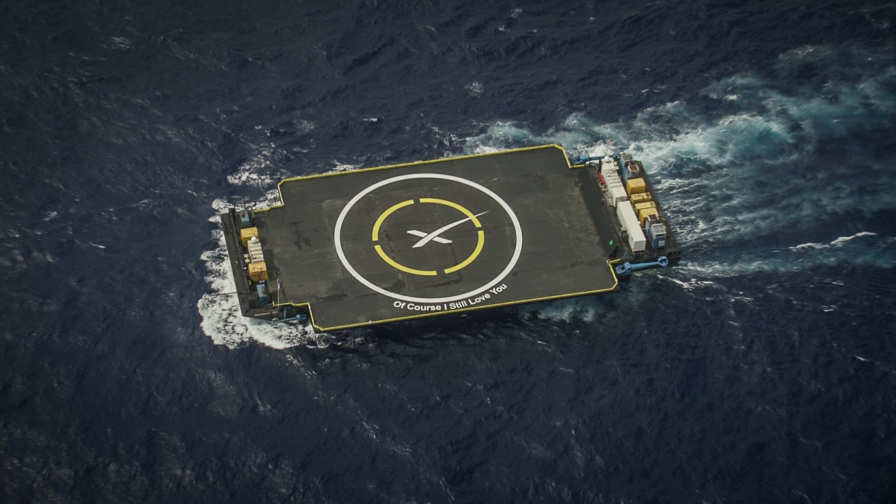 Autonomous spaceport drone ship, SpaceX, , Falcon 9, Falcon, SpaceX CRS-7, Rocket, Ship, Falcon 9 first-stage landing tests, Rocket launch, spacex of course i still love you, Space, Number, Logo