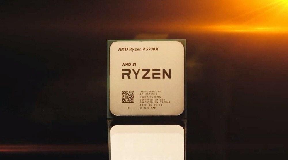 照片中提到了AMD Ryzen 9 5900X、AMD A、RYZEN,跟雷岑有關,包含了中央處理器、禪宗3、中央處理器、Advanced Micro Devices公司、遊戲機