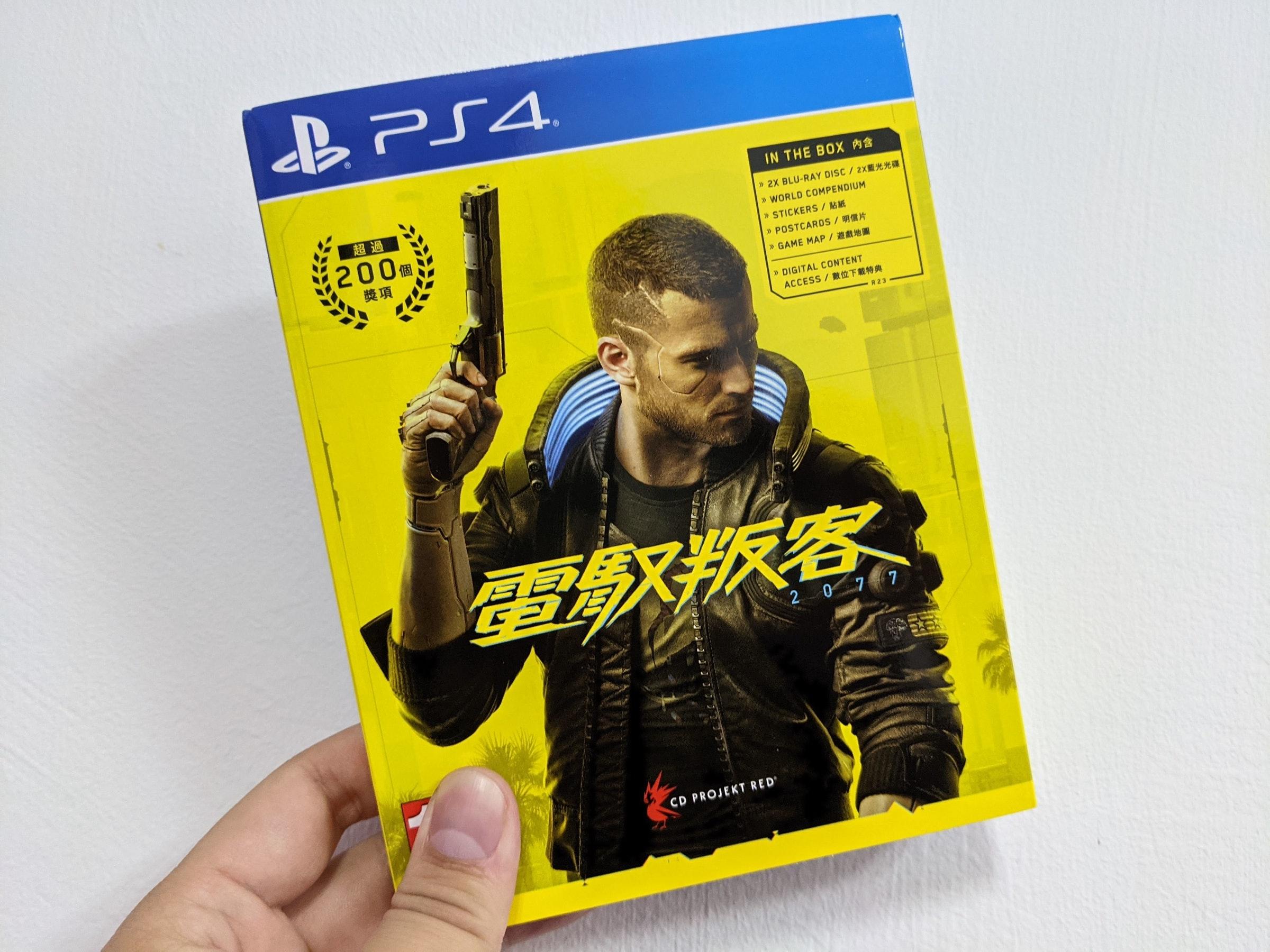 照片中提到了BPS4、IN THE BOX P、超過,跟PlayStation VR、的PlayStation有關,包含了的PlayStation 4、賽博朋克2077、索尼PlayStation 4、的PlayStation 5、Xbox One
