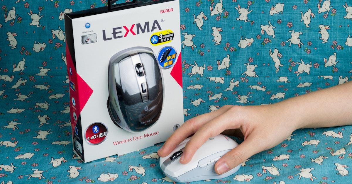 是藍牙滑鼠斷線糗死人?Lexma B600R 「無線+藍牙」  即時切換   工作一把罩這篇文章的首圖