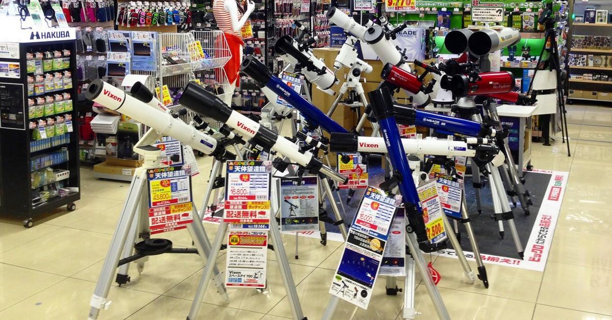 是[面白日本] 大賣場裡的顯微世界與浩瀚銀河!科普教育就是要動手玩!這篇文章的首圖