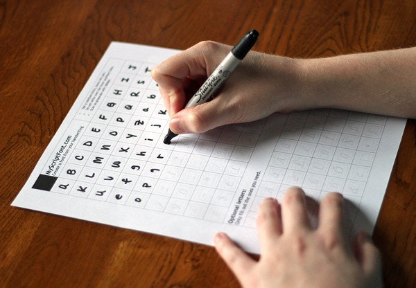 是 免費將手寫字體轉換成電腦字型這篇文章的首圖