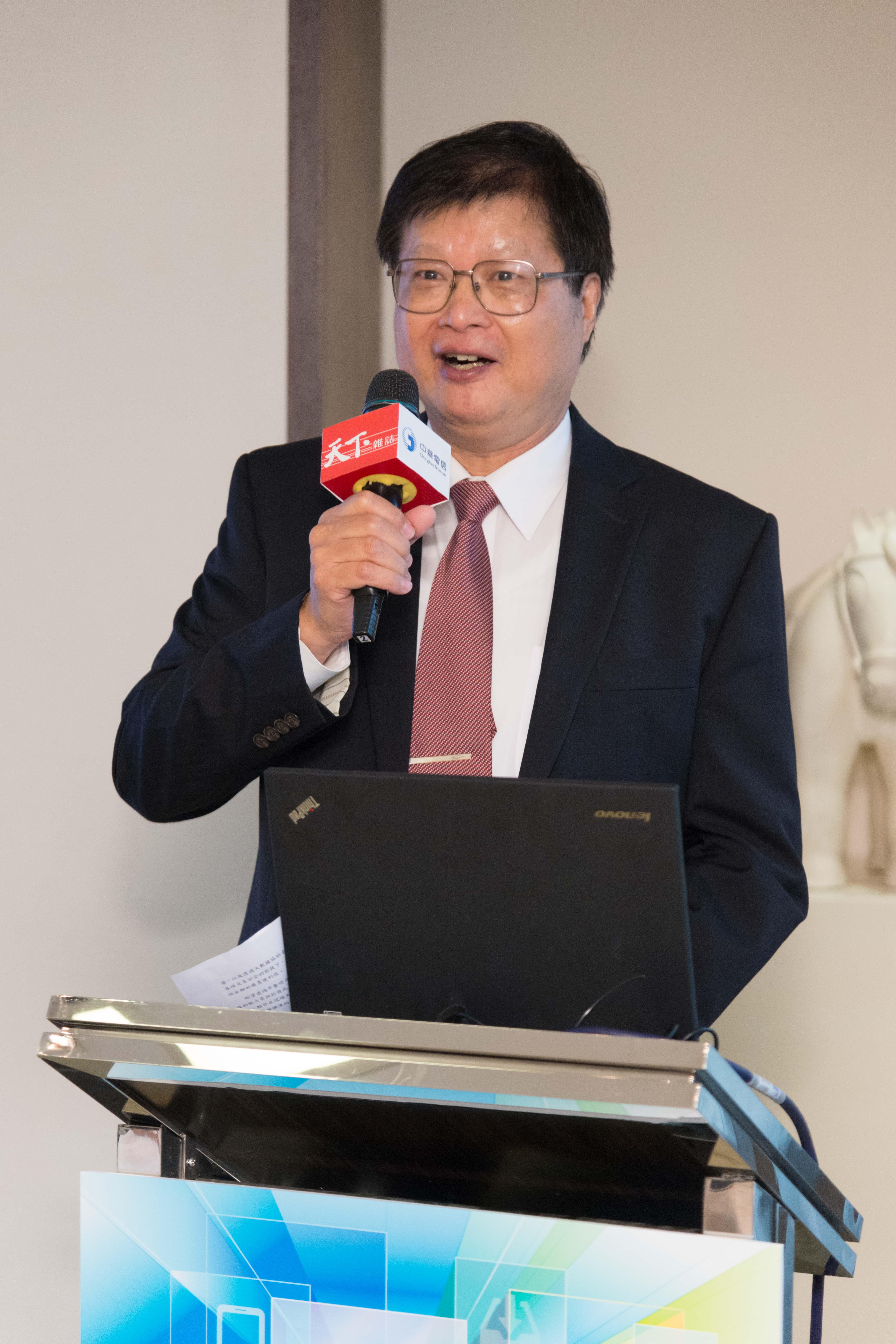 中華電信石木標:ICT 技術決定企業未來優勢  金融業前進 Bank 3.0 資通訊力助打亞洲盃