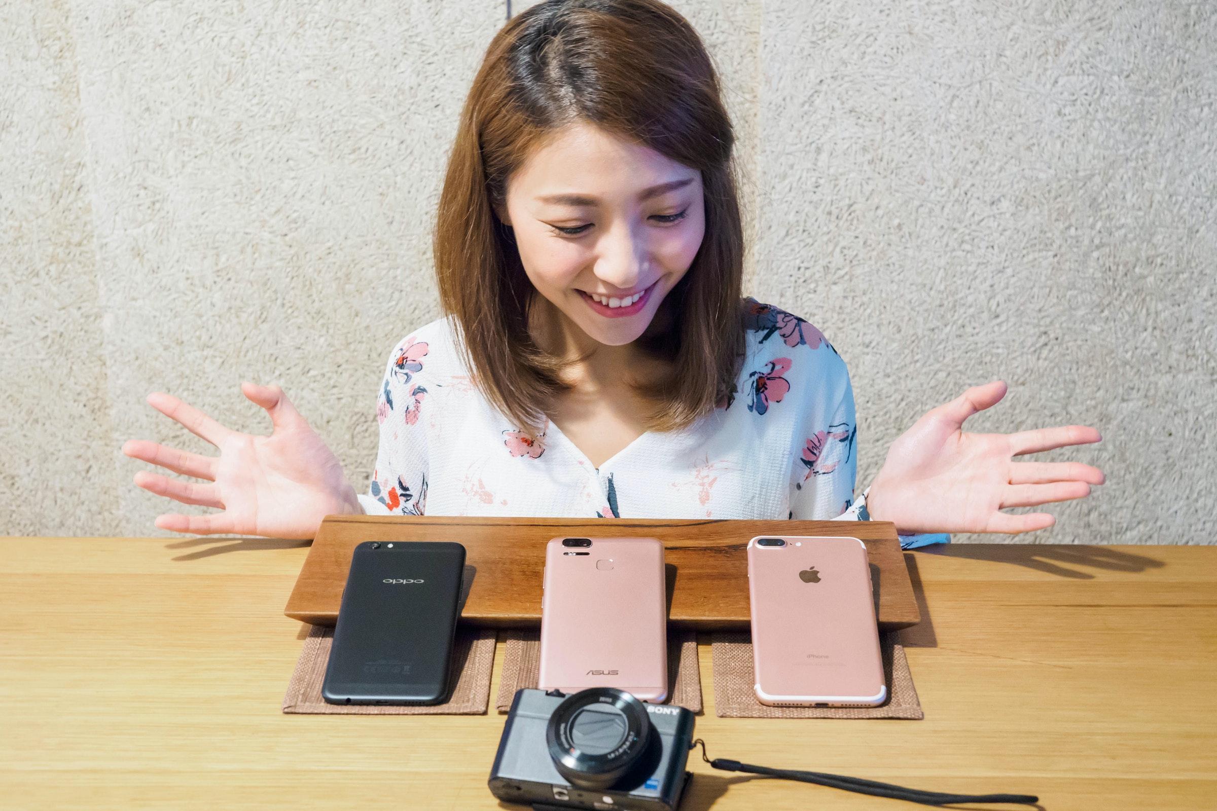 是三款手機vs相機拍照大比拼!Apple、ASUS、OPPO、Sony RX100III這篇文章的首圖