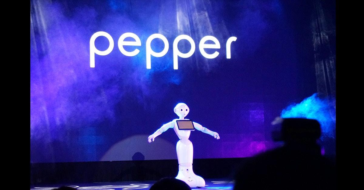 是日本智慧型機器人Pepper正式進入台灣市場與大家相見歡這篇文章的首圖