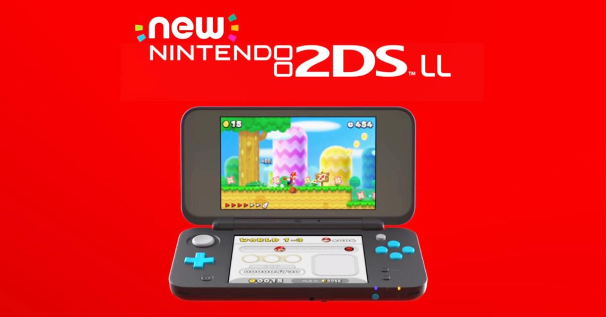 是任天堂New 2DS LL掌上型主機:更便宜、無3D顯示、2種顏色這篇文章的首圖