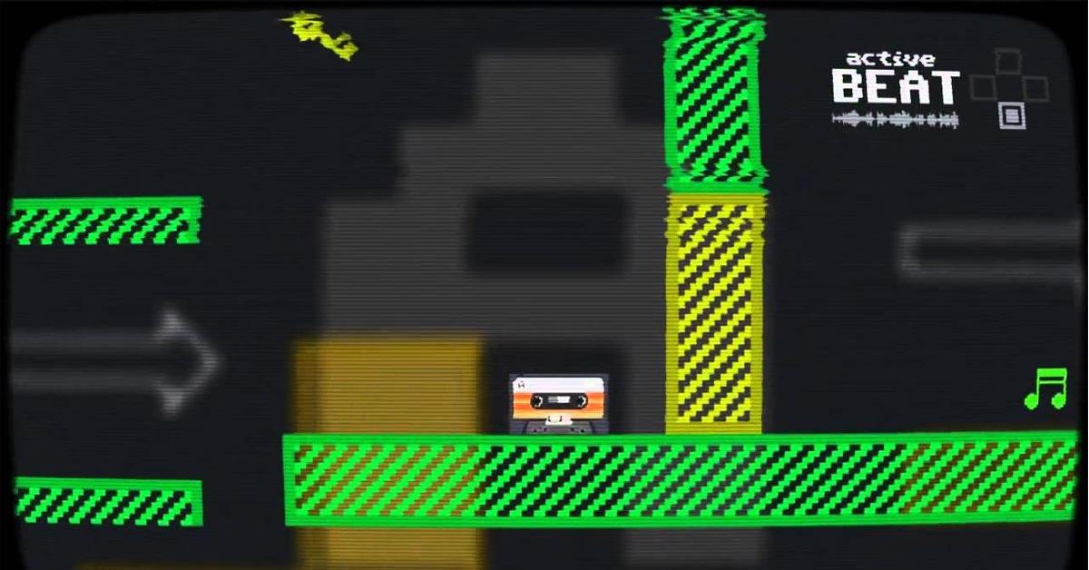 是史上第一款用錄音帶當作主角的動作遊戲《Super Mixtape》這篇文章的首圖