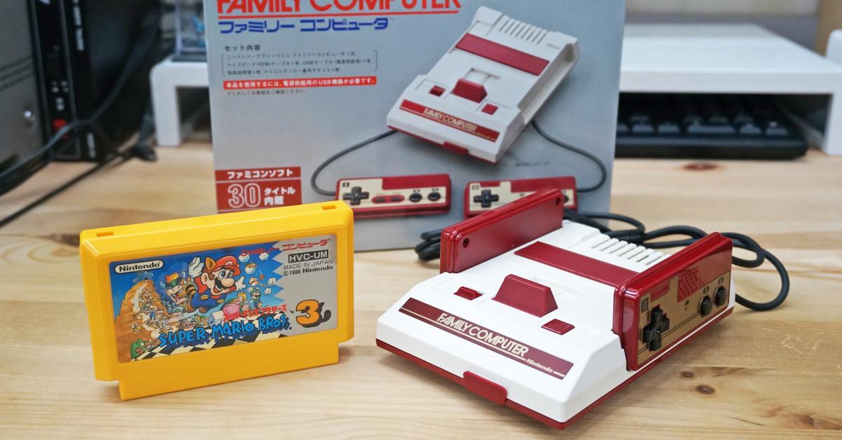 是秒殺神物!任天堂迷你紅白機 Nintendo Classic Mini 完全開箱這篇文章的首圖