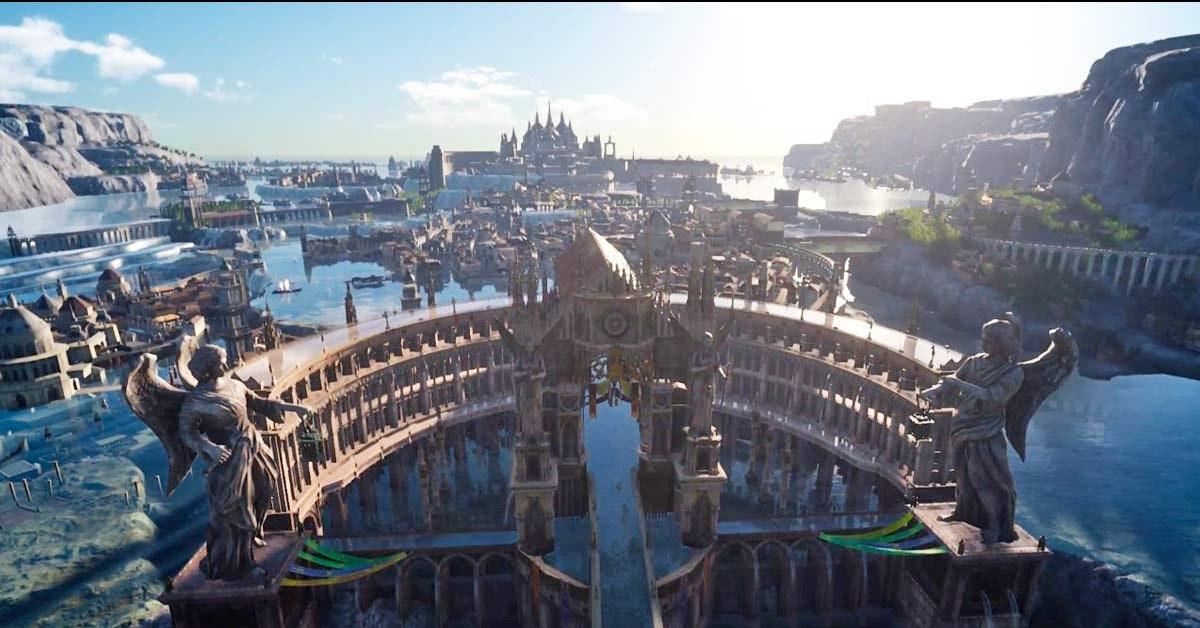 是《太空戰士15》(Final Fantasy XV)又公佈新場景之遊戲畫面這篇文章的首圖