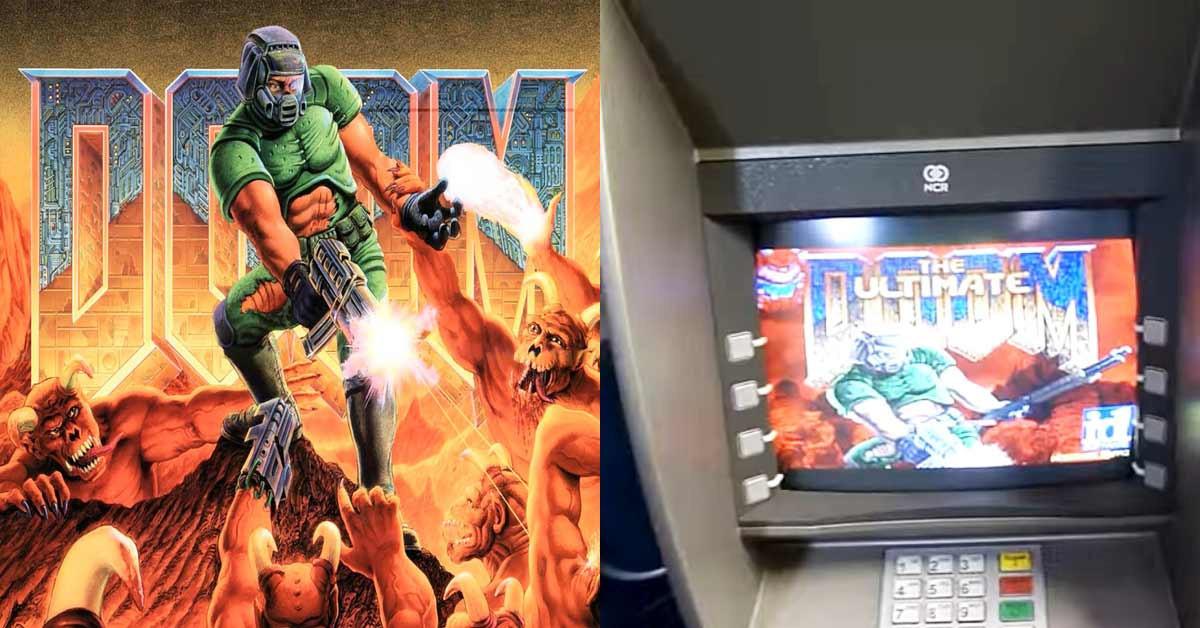 是這樣94狂 國外超強玩家用ATM玩《毀滅戰士》這篇文章的首圖