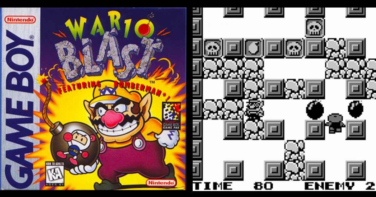 是不止轟炸超人會丟炸彈,任天堂的壞利歐也會:Gameboy主機的「Wario Blast」這篇文章的首圖