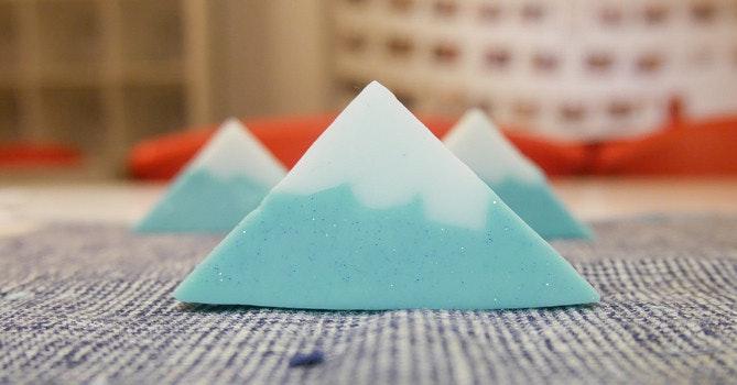 是讓洗手也能心情好 動手做富士山肥皂這篇文章的首圖