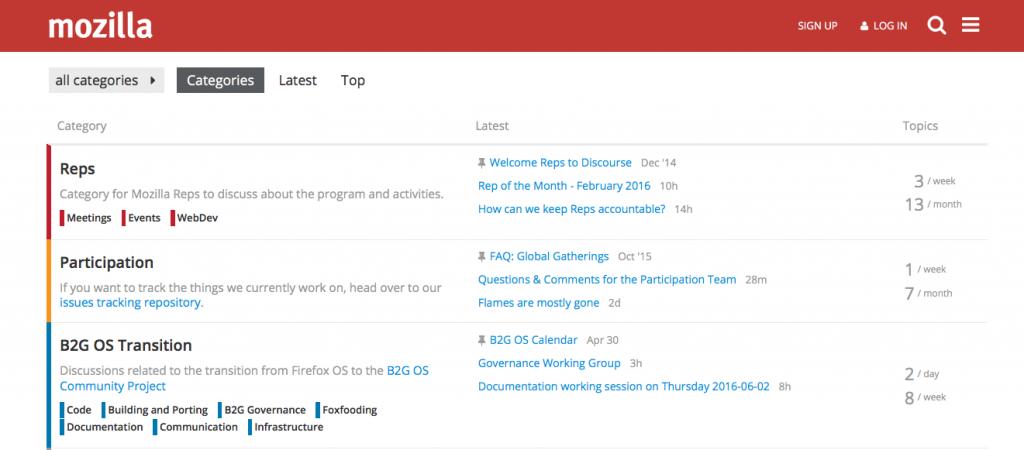 是新的 Firefox 開發討論區這篇文章的首圖