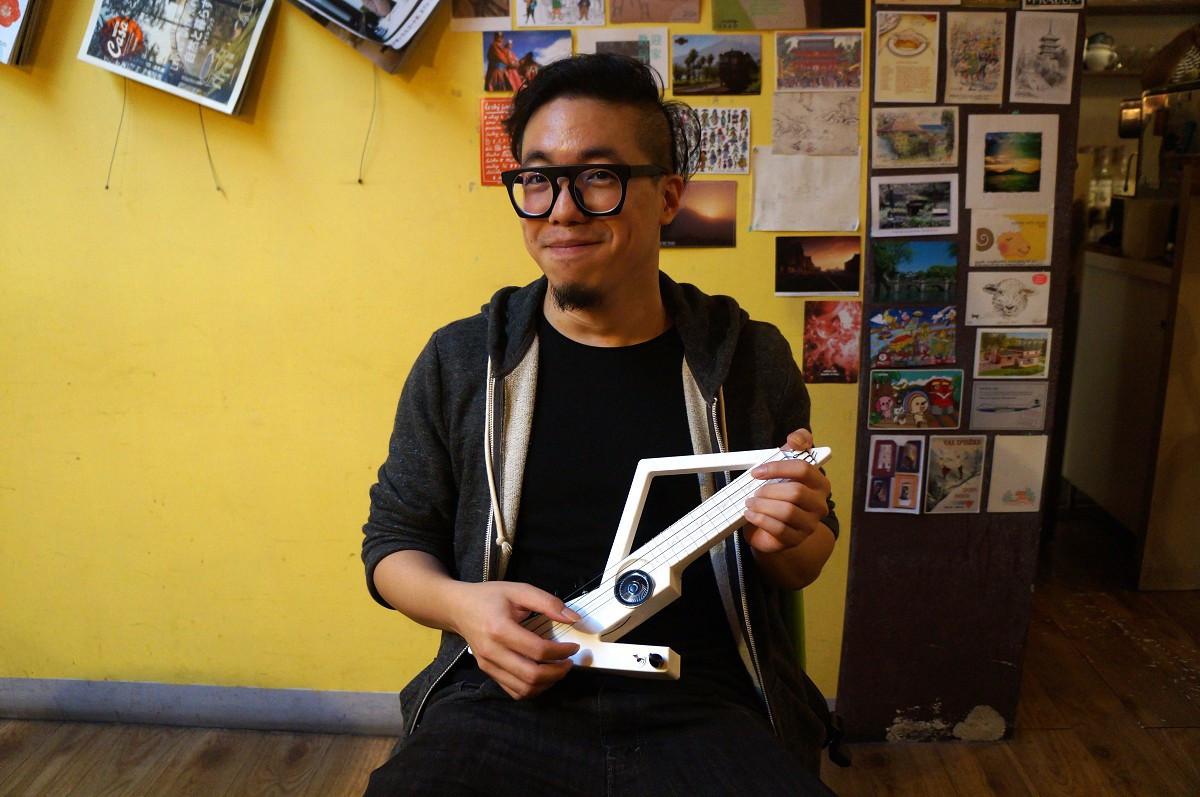 是Maker X Rocker自己樂器自己做,電烏克製作所「自造」你的搖滾夢這篇文章的首圖