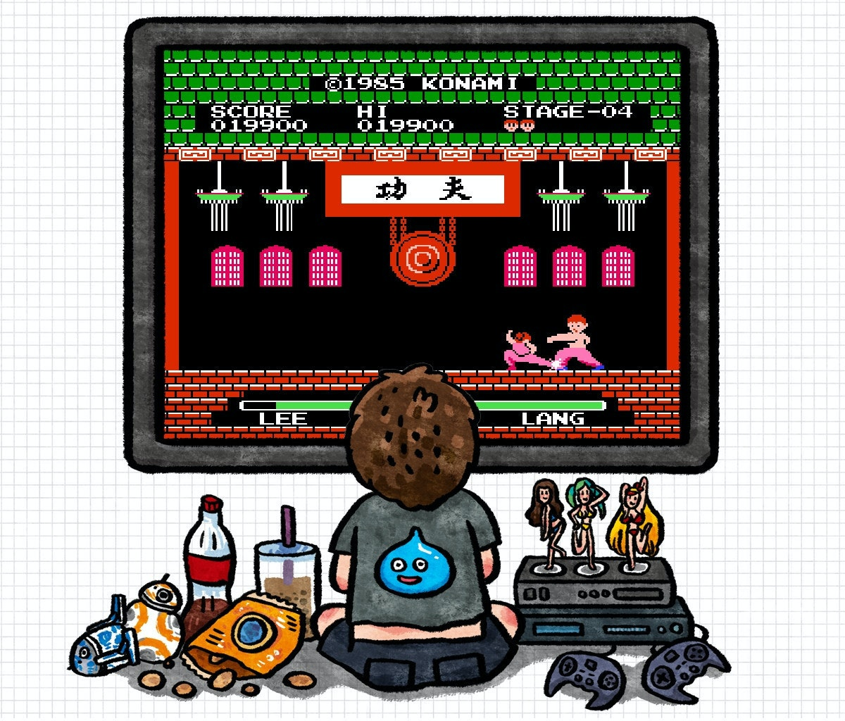 是[巷口遊戲攤] 一二功夫:格鬥遊戲的先行者這篇文章的首圖