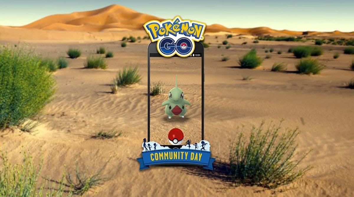 "Pokémon GO, Larvitar, Pokémon, Lavender Town, Charmander, Tyranitar, Johto, Niantic, Pokémon vrste, The Pokémon Company, Larvitar, ecosystem, desert, landscape, aeolian landform, sahara, sand, biome, ecoregion, grass, grass family, Pokemon Go, ""Pokémon"" (1998)"