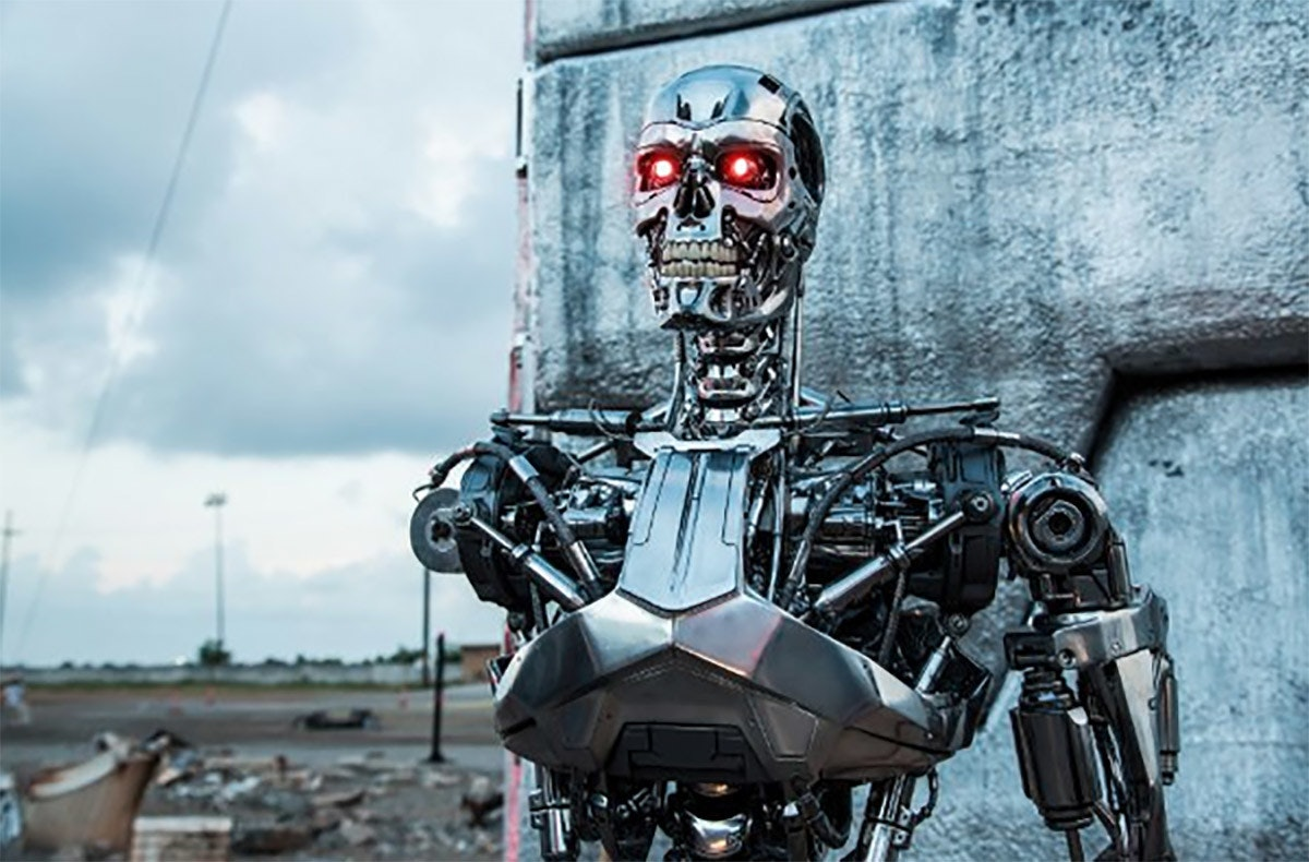 Terminator, Skynet, Robot, The Terminator, Actor, Film, Robotics, Lethal autonomous weapon, The Terminator, Terminator Genisys, robots terminator, robot, vehicle, technology, machine, car, personal protective equipment