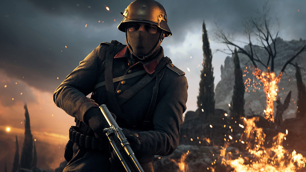Apocalypse, Battlefield V, EA DICE, , , Electronic Arts, Downloadable content, Video game, Xbox One, First-person shooter, battlefield 1, soldier, screenshot, computer wallpaper, fire, darkness, pc game