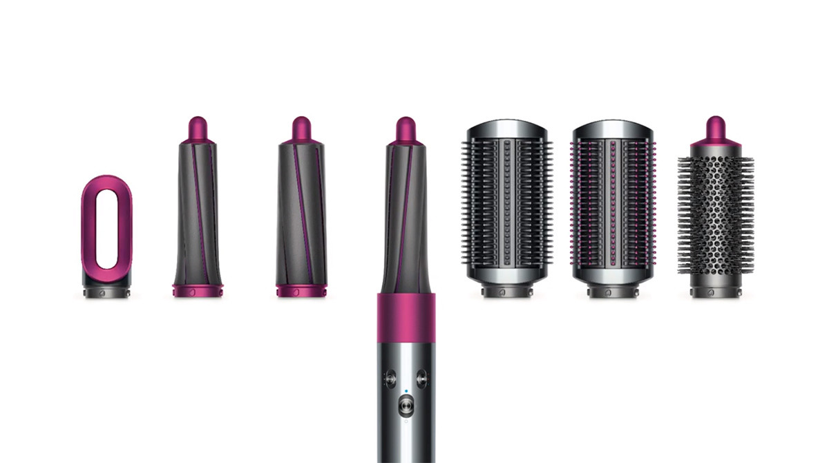 Dyson Airwrap美髮神器:吹風機與捲髮器二合一