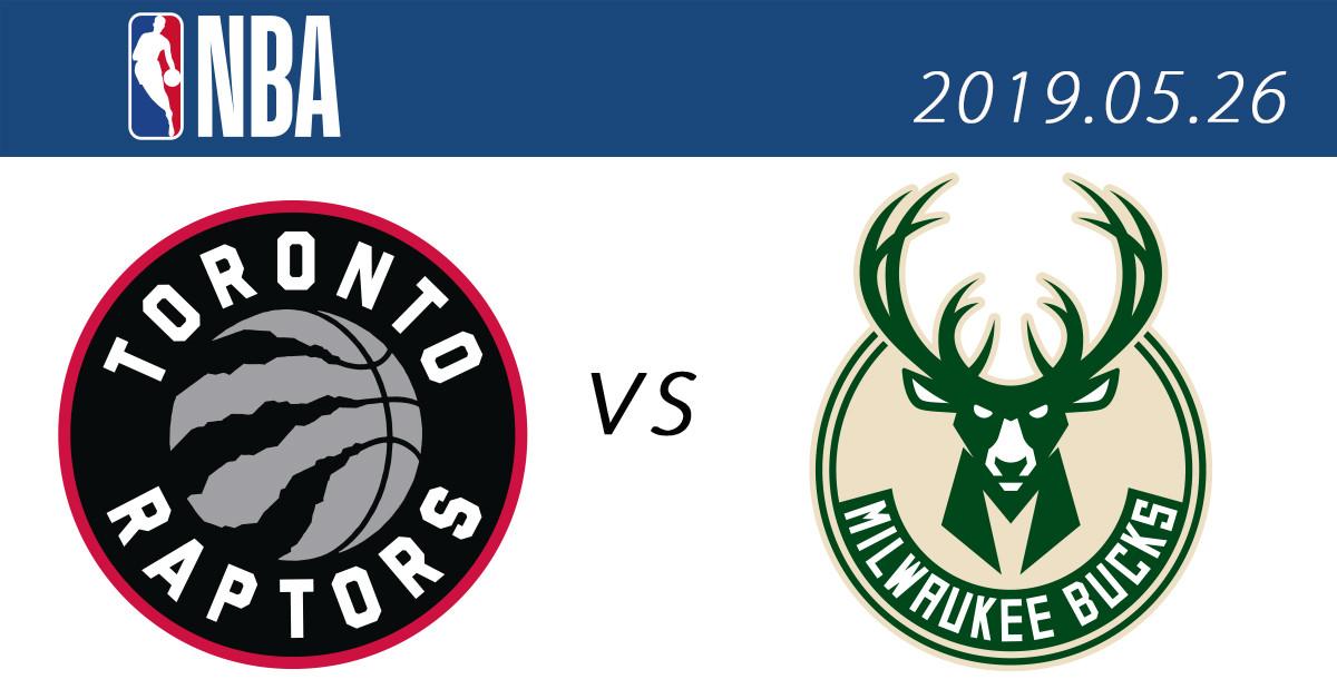2019 NBA季後賽分區決賽 直播免費線上看:26暴龍 vs. 公鹿