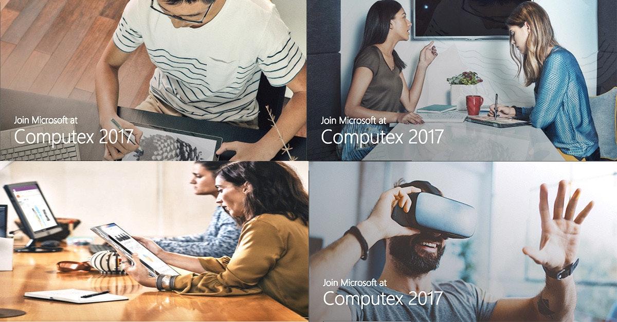 是2017微軟COMPUTEX帶你創造可能性 這篇文章的首圖