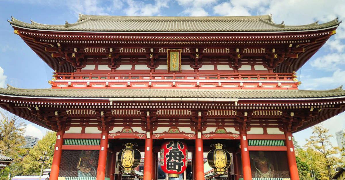 Sensō-ji, Hōzōmon, , Photograph, Image, , Travel, Photography, Stock photography, , hōzōmon, chinese architecture, japanese architecture, landmark, shinto shrine, temple, historic site, shrine, building, place of worship, temple