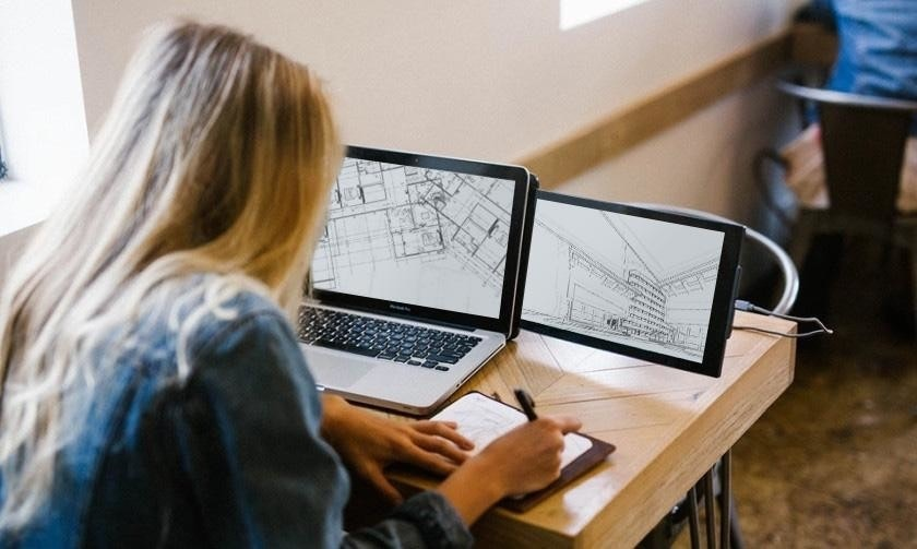 Computer Monitors, Laptop, Multi-monitor, Pixel, Display device, Pixel, Pixel 3, Mobile app, Computer, Second screen, mobile pixels, Technology, Learning, Electronic device