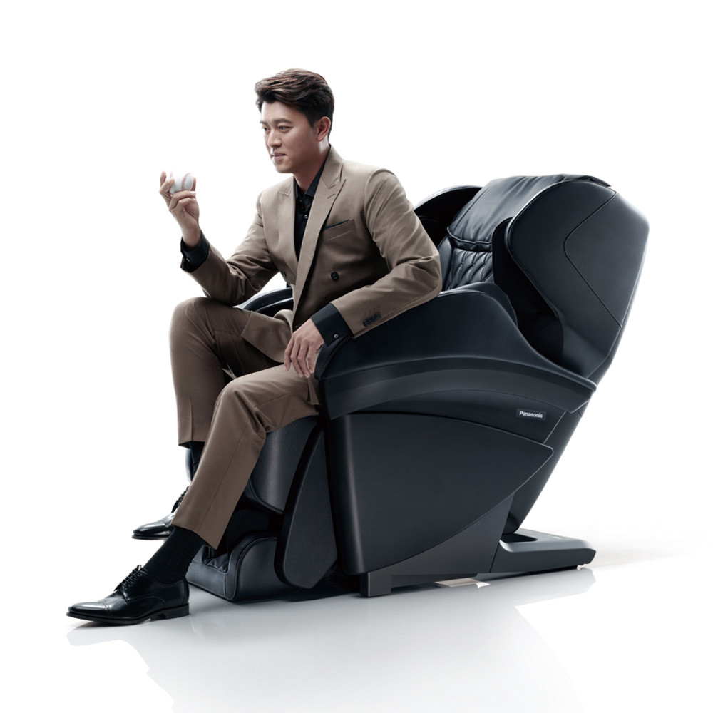 tokuyo X Panasonic 聯名合作,王建民遇見「REAL PRO 王者之座」手感按摩椅