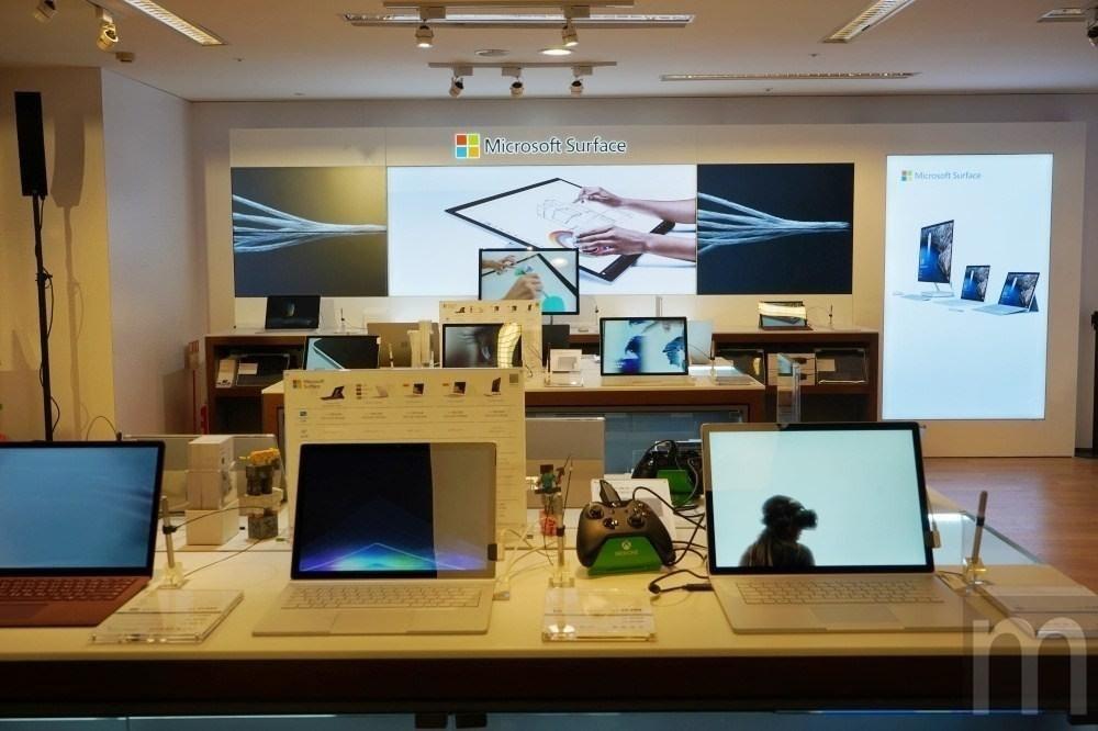 是微軟在台啟用首間Surface形象旗艦店 未來不排除爭取開設Microsoft Store這篇文章的首圖