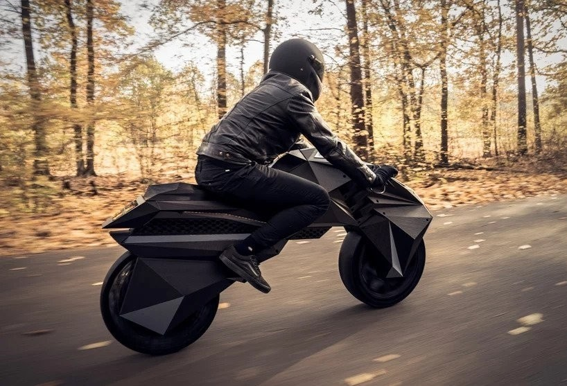 是連輪胎都是用印的!德國發表「全 3D 列印」電動機車這篇文章的首圖