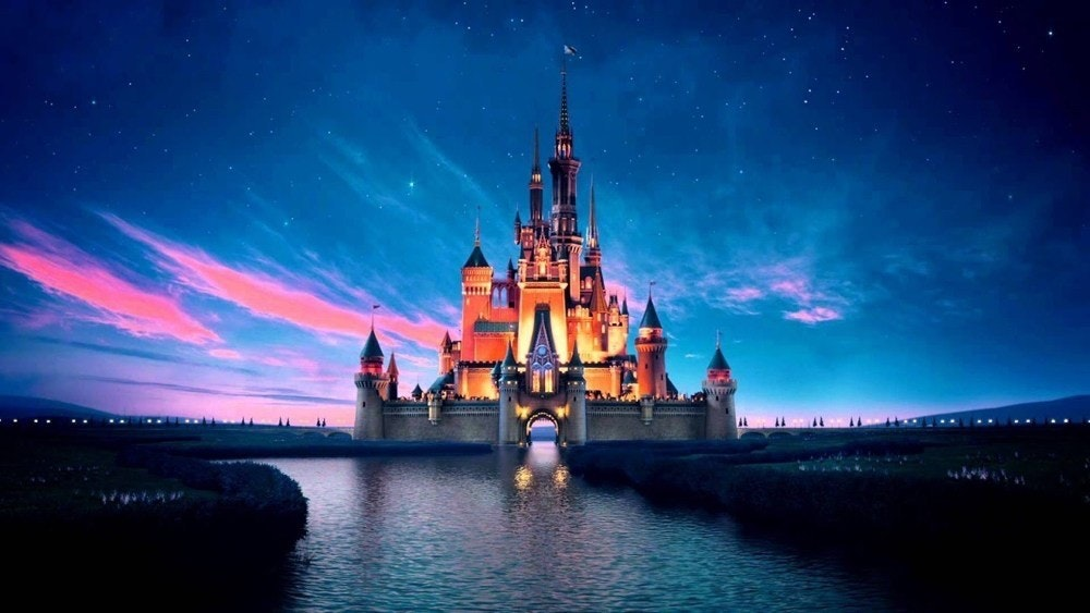 Desktop Wallpaper, The Walt Disney Company, , Image, 1080p, Display resolution, Image resolution, High-definition video, Download, Mobile Phones, disney backgrounds, landmark, walt disney world, sky, tourist attraction, night, metropolis, atmosphere, computer wallpaper, reflection, world